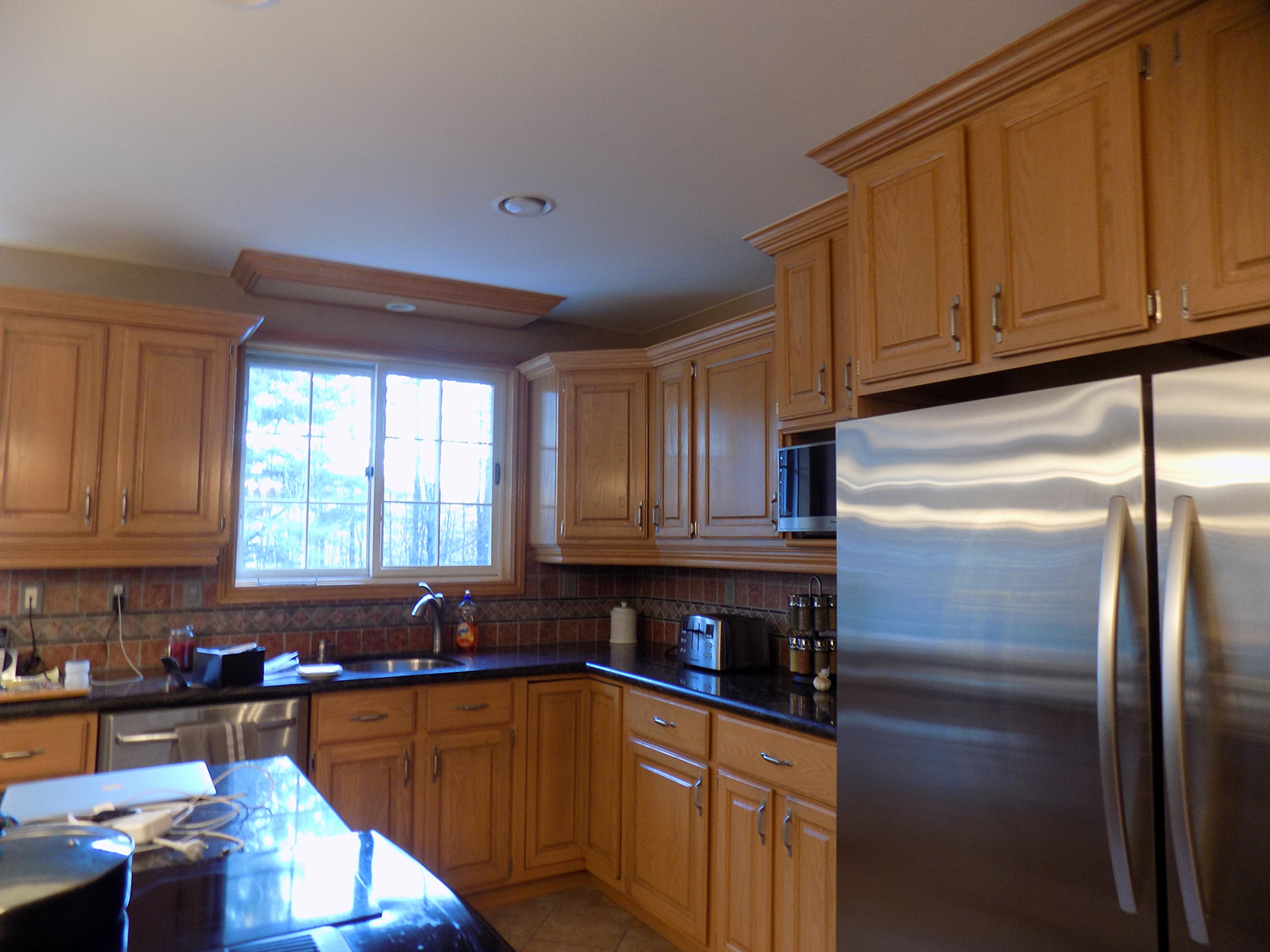Room transformations freshlookpaintingservices for Kitchen cabinets barrie