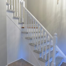 Stair side after