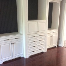 Custom Wall unit after